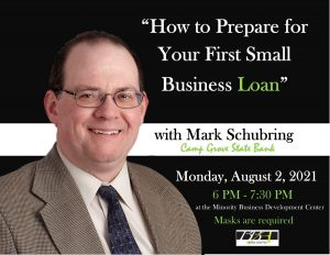 8/7/21 - Small town bank president, Mark Schubring on financial literacy.